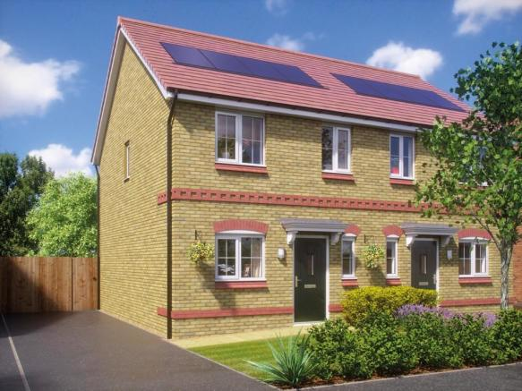 New Homes Cromwell Road Ellesmere Port