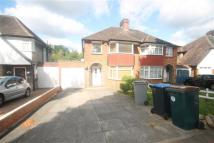 3 bedroom semi detached property to rent in Uxendon Hill...