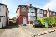 Sedgwick Avenue semi detached property to rent