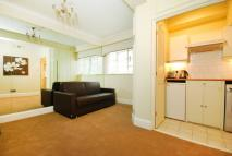 Studio apartment in Sloane Avenue, Chelsea...
