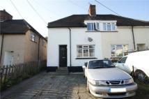 3 bed semi detached house in Hewett Place, Swanley...