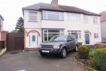 3 bed semi detached house in Lynton Avenue, Claregate...