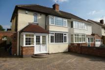 semi detached house to rent in Oxbarn Avenue, Bradmore...