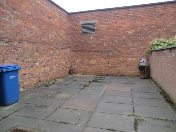 Enclosed Yard