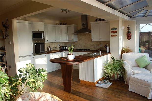 Kitchen Open Plan Conservatory
