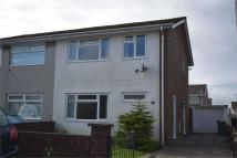 3 bedroom semi detached house in Manmoel Court, Oakdale...