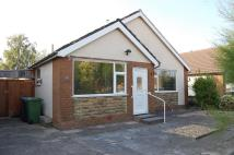 Bungalow in Dorchester Road...