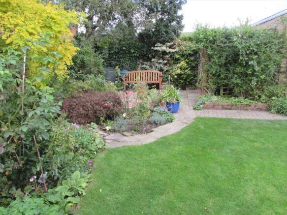Rear Garden New