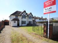 3 bedroom semi detached property to rent in Green Lane, Bevere...