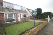3 bedroom semi detached property to rent in Bishopgate Lane...