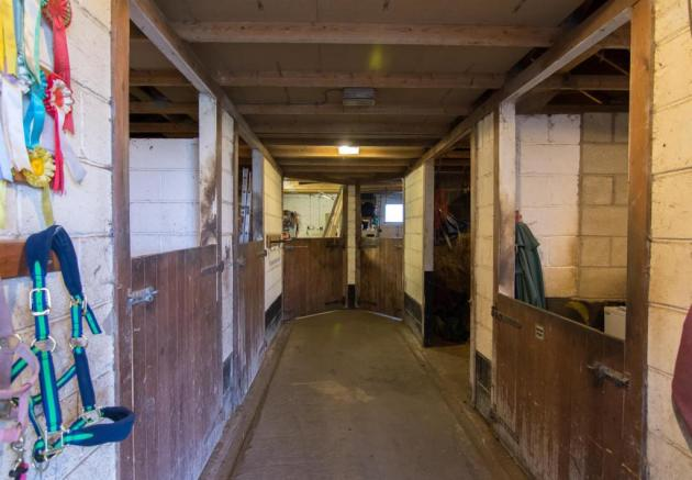 Inside Stable Block
