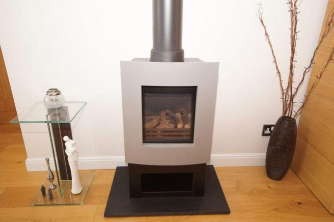 Gas Wood Burner