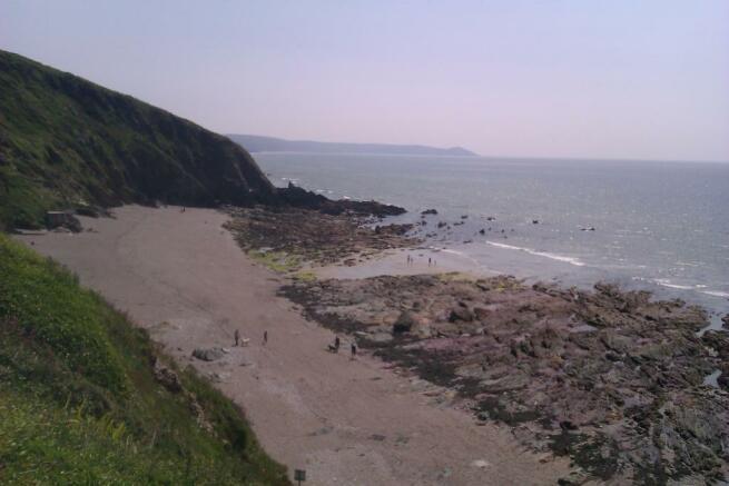 Beach by golf club