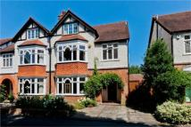 semi detached property in Curzon Road, Weybridge...