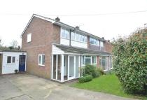 3 bed semi detached home for sale in Nunnery Street, CO9