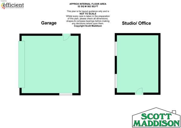 Office/studio/garage