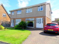 3 bed semi detached home in Fulshaw Court, Prestwick...