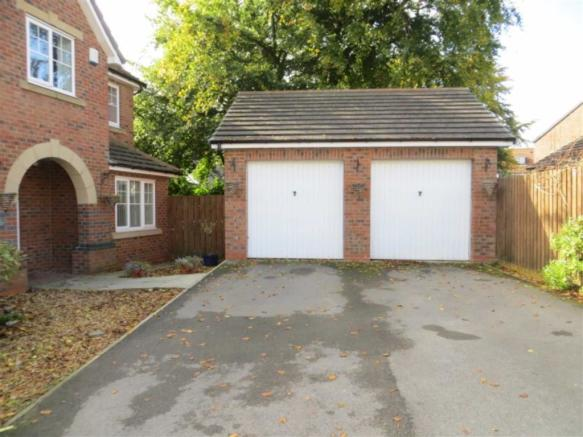 GARAGES AND DRIVEWAY