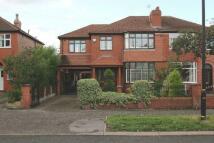 semi detached property in Brook Lane, Timperley