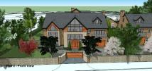 new development in Bow Green Road, Bowdon
