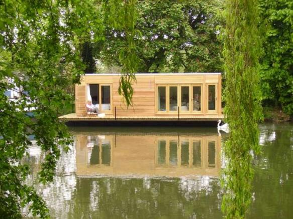 1 bedroom house boat for sale in modern floating homes tw17 for 1 room house for sale
