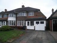 3 bed semi detached house to rent in Beeches Drive, Erdington...