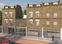 new Flat in Newington Green Road...