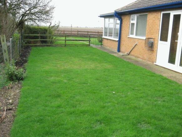 Side Garden to Rear