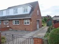 semi detached home for sale in Christopher Road, Alford