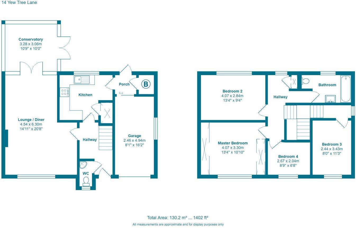 4 bedroom detached house for sale in Yew Tree Lane, Harrogate, HG2