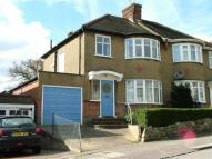 3 bedroom semi detached property in Hillside Gardens, Barnet...