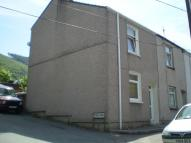 End of Terrace house in Pond Row, Cwmcarn...