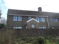 End of Terrace house in Penrhiw Terrace...