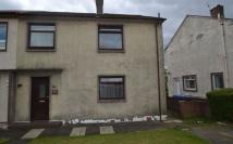semi detached home for sale in Corrie Crescent...
