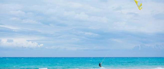 Practice Kite surf