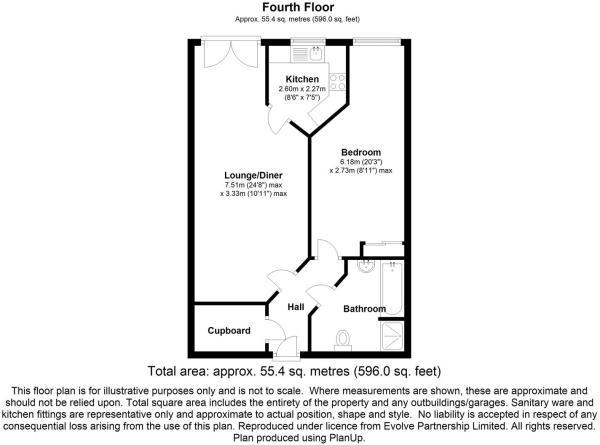 floorplan 49 Windsor House, Abbeydale Road, Sheffi