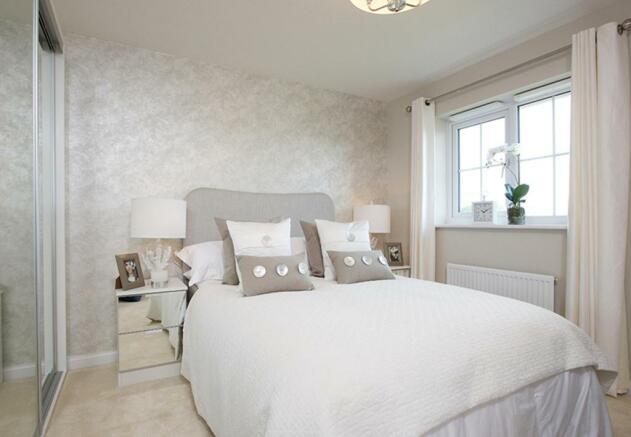 Somerton double bedroom
