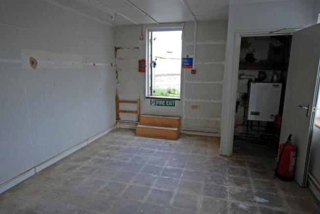 Access To Flat Roof
