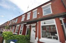 Terraced house in Filey Road, Manchester