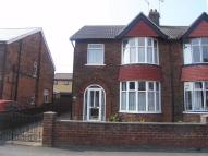 3 bedroom semi detached property to rent in Brant Road, SCUNTHORPE...