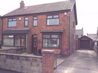 3 bedroom semi detached property to rent in Rowland Road, SCUNTHORPE...
