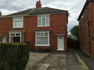 2 bedroom semi detached house to rent in Bottesford Avenue, Ashby...