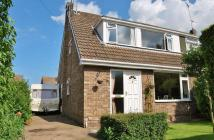 semi detached home in Elm Drive, Cherry Burton