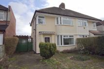3 bed semi detached home in Hill Road, Pinner