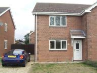 2 bed semi detached home to rent in 4 Hurn Close, Ruskington