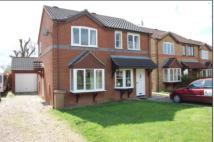 2 bedroom semi detached house to rent in Pocklington way...