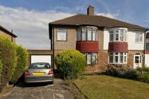 3 bed semi detached house in Chapel Farm Road London...