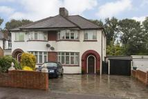 3 bedroom semi detached home in Sidcup Road, New Eltham...