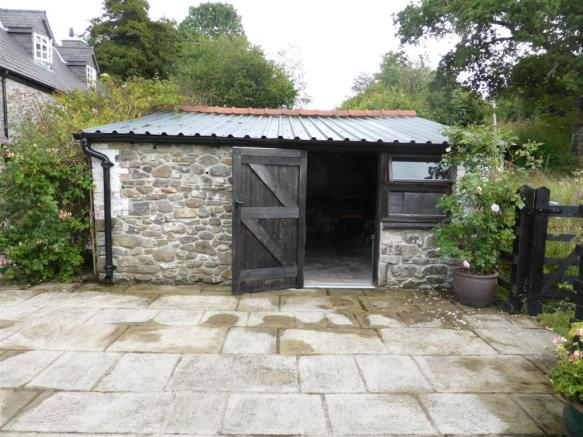 GARDEN STORE SHED