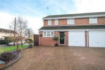 semi detached home for sale in Hilltop View, Yateley...